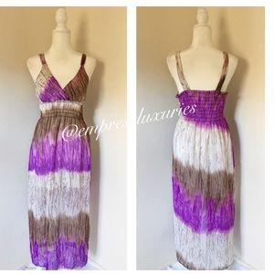 Dresses & Skirts - Purple/Brown Sundress✨✨